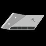 Flügelschar Lemken mit HM ADL 0020G (links)