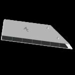 Flügelschar Lemken  mit HM ADL 360D (rechts)