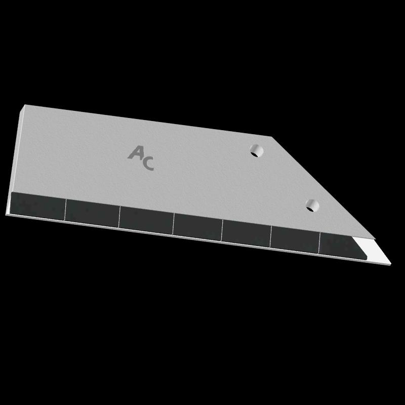 Flügelschar Lemken mit HM ADL 360D (rechts) Agricarb