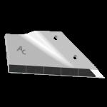 Flügelschar Lemken mit HM ADL 4428D (rechts)