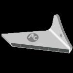 Flügelschar Pöttinger  mit HM ADP 0250D (rechts)