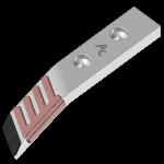 Tiefenlockerermeissel Bonnel mit HMBLR 6233D (rechts)
