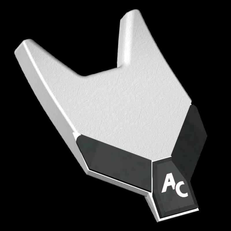 Meißelspitzen BDS 100V (130x100x20 mm) Agricarb