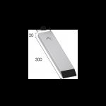 Meißelspitzen BEC 6230 (300x60x20 mm) Agricarb