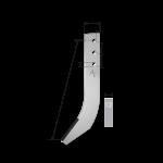 Fräshaken Struik mit HM tip DPS 0380 Agricarb