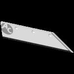 "Pflugschar Lemken 20"" mit HM SBL 2138D (rechts)"