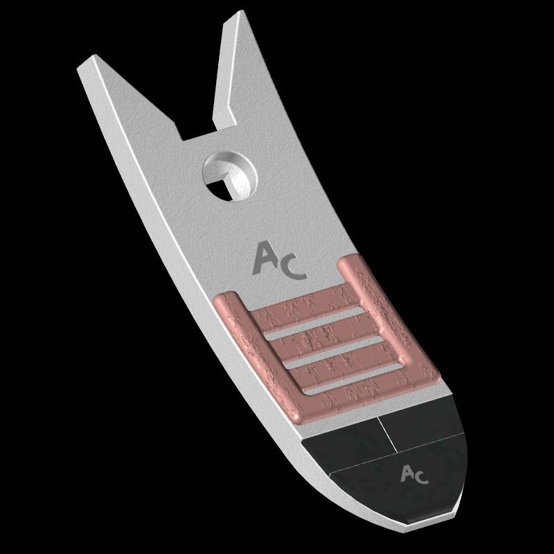 Scharspitze Kongskilde mit HM SCK 3120C Agricarb