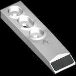 Scharspitze Kongskilde mit HM BDK 1320