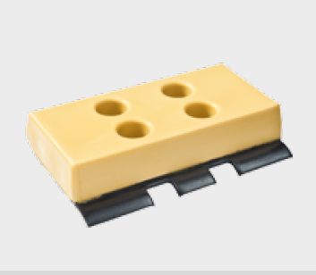 Polyurethan Bodenplatten Größe BS1/ 260 mm (set)