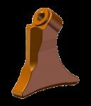 Rundschaftmeißel-Halter Bomag (22 mm)
