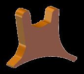 Rundschaftmeißel-Halter WR/HT11 (22 mm)