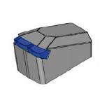 Schläger für  C, mit 2 x Hartmetallspitzen